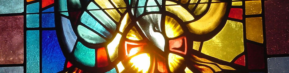 Chapel Window With Sun